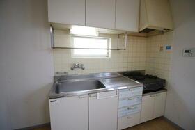 ファミリープラザD 102号室のキッチン