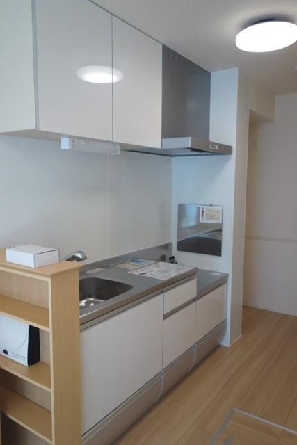 Lumiere Maruju 102号室のキッチン