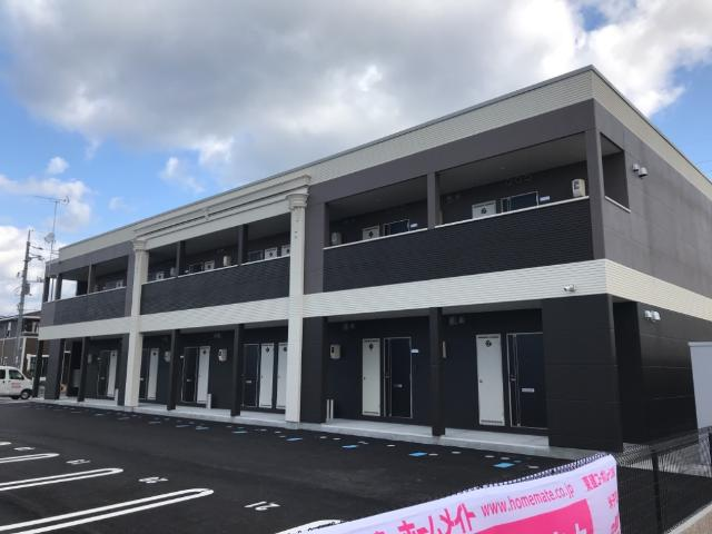 袖ケ浦市久保田新築アパート外観写真