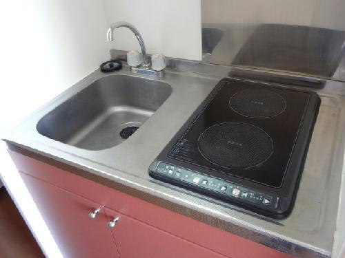 レオパレス桂 308号室のキッチン