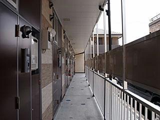 レオパレス桂Ⅱ 306号室のエントランス