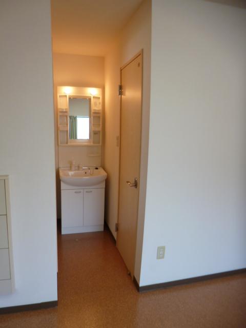 M・一番星 102号室の洗面所