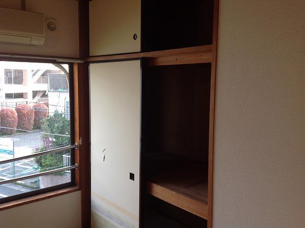 アイビーハウス 203号室の収納