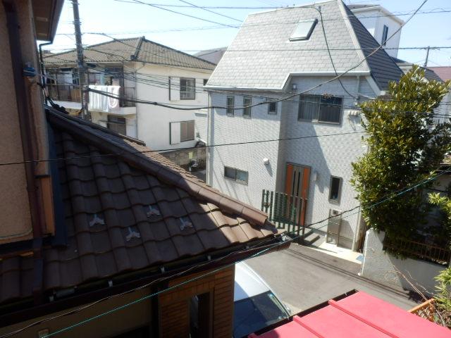 ミドリ荘 8号室の景色