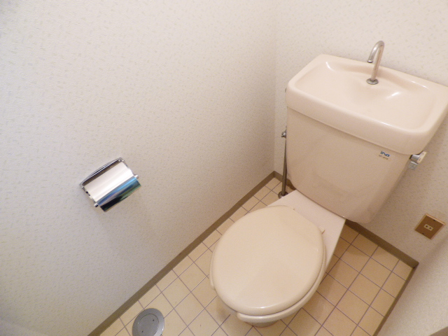 パールハイツ吉野B棟 202号室のトイレ