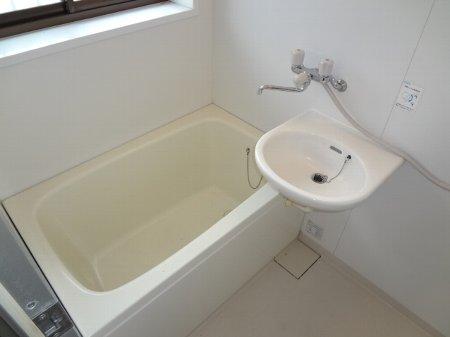 サンコーポヤマブン 201号室の洗面所
