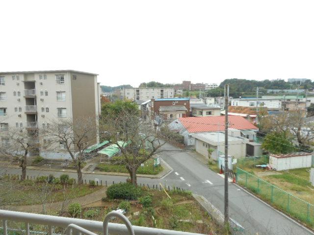 鎌ヶ谷グリーンハイツ23号棟 410号室の景色