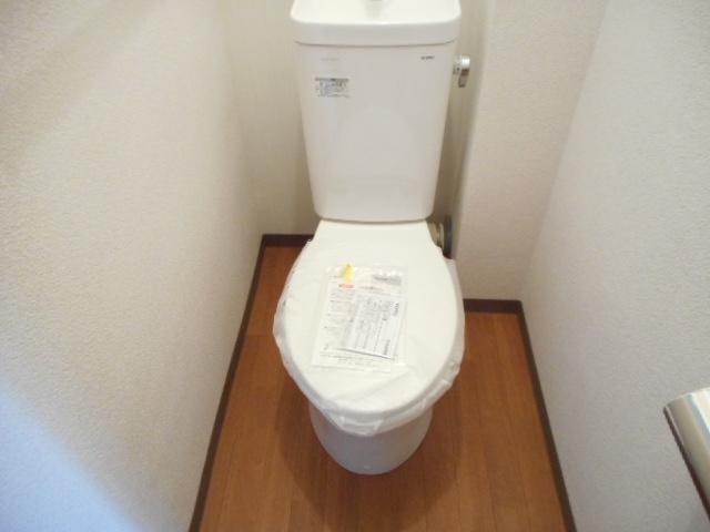鎌ヶ谷グリーンハイツ23号棟 410号室のトイレ