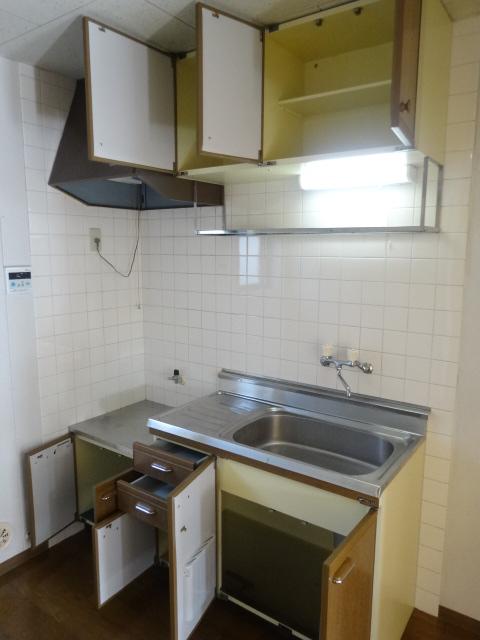 パークサンライズBのキッチン