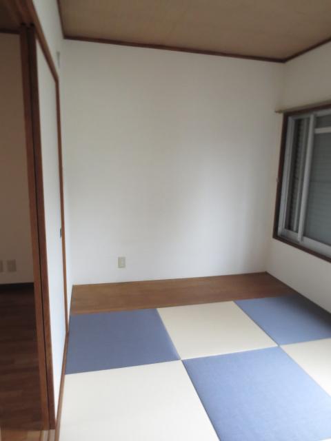 ハイムレジデンス奥沢 203号室のベッドルーム