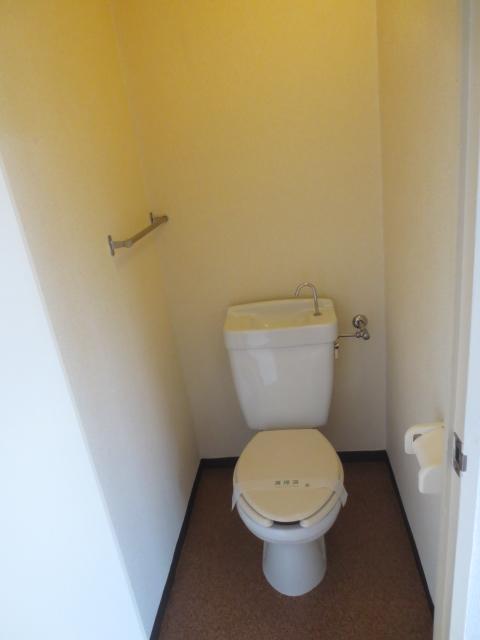 ハイムレジデンス奥沢 203号室のトイレ