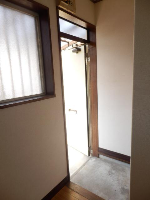 コーポ佐久間 101号室の玄関