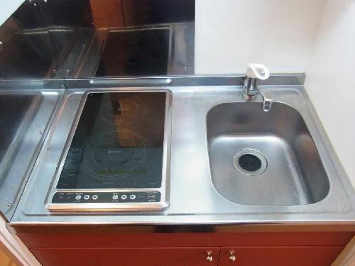 レオパレスフォレスト彩 202号室のキッチン