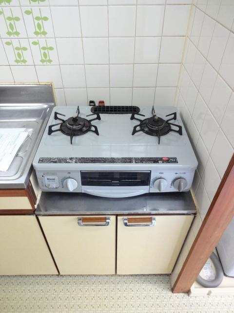 アネックス2 107号室のキッチン