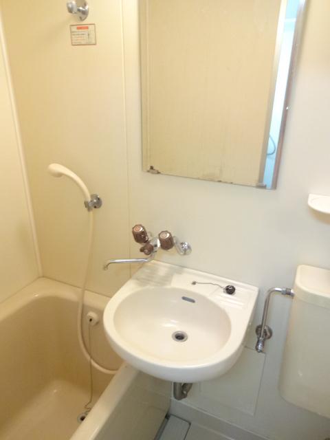 アネックス2 107号室の洗面所
