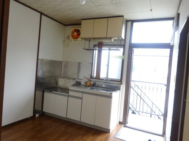 コーポミユキ 202号室のキッチン