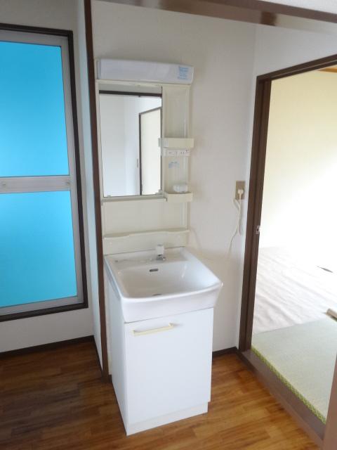 コーポミユキ 202号室の洗面所