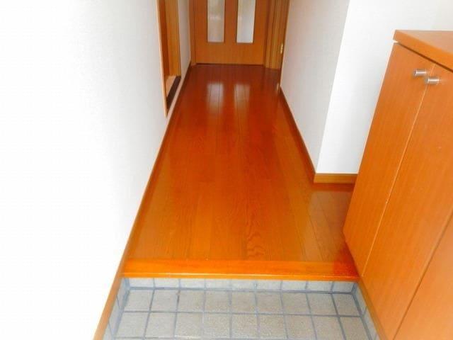 I・Field B 01020号室の玄関