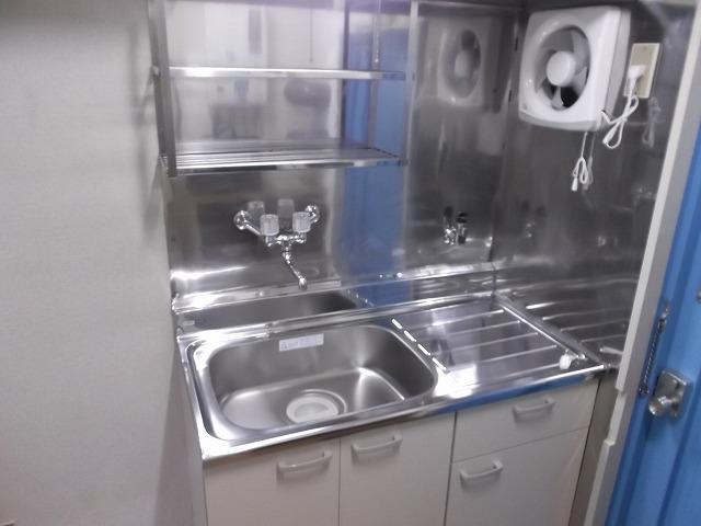 ヴィラテレサ 101号室のキッチン