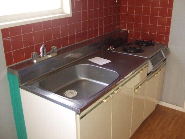 コーポヒコ 101号室のキッチン
