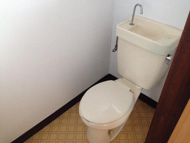 第二秋元荘 102号室のトイレ