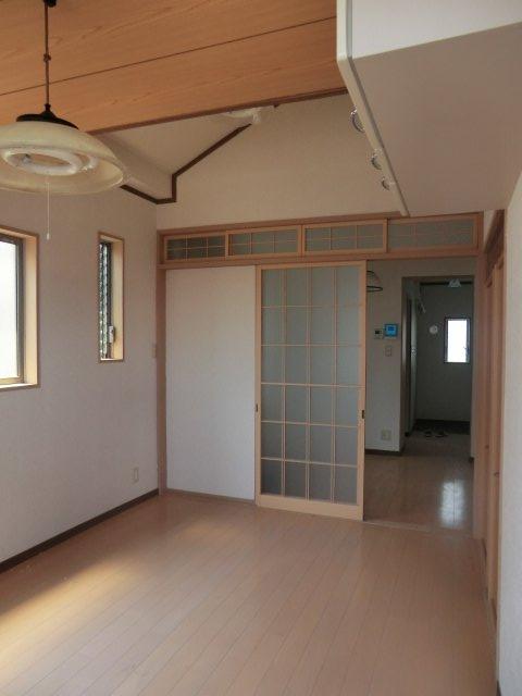 平田荘 202号室のリビング