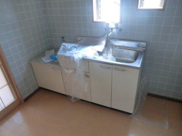 平田荘 202号室のキッチン