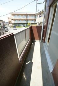 持田学園ビル 202号室のバルコニー