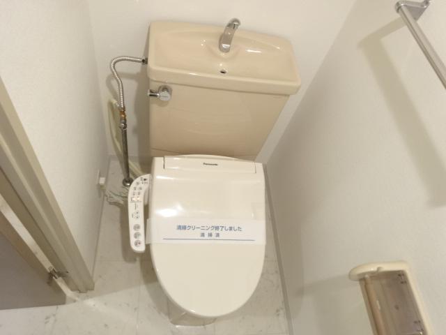 CASSIAたまプラーザ 407号室のトイレ