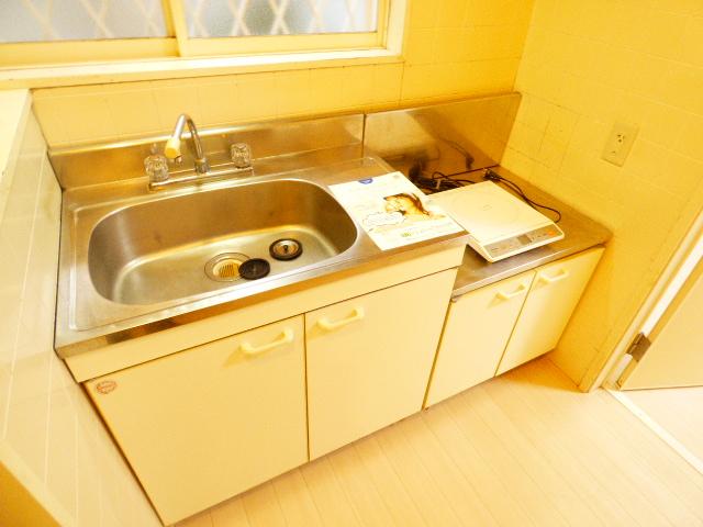 ハイツカメリア 102号室のキッチン