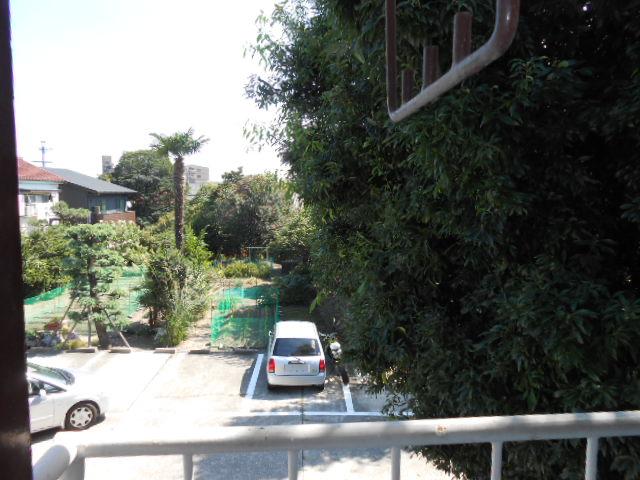 上中荘 17号室の景色