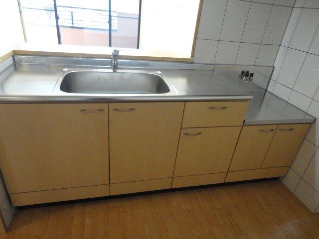 レジデンスヒルズカコⅢ 202号室のキッチン