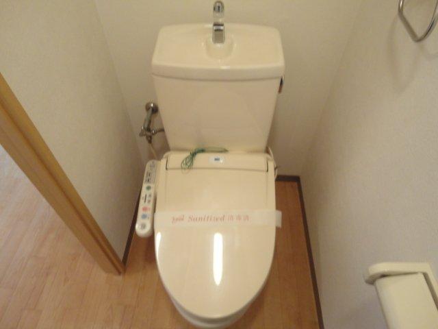 レジデンスヒルズカコⅢ 202号室のトイレ