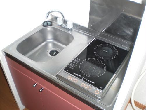 レオパレス桂Ⅱ 207号室のキッチン