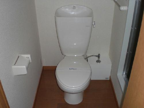 レオパレス桂Ⅱ 207号室のトイレ