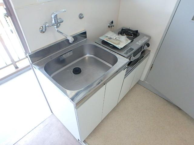 横山ビル 201号室のキッチン
