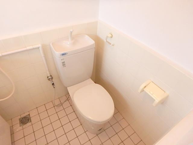 横山ビル 201号室のトイレ