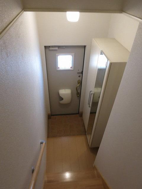 メゾン・アムール Ⅲ 02010号室の玄関