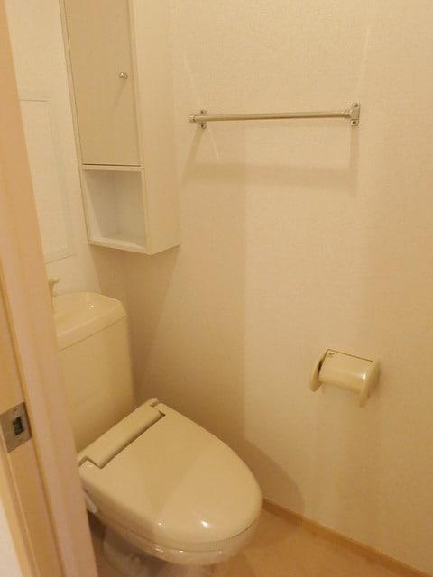 メゾン・アムール Ⅲ 02010号室のトイレ