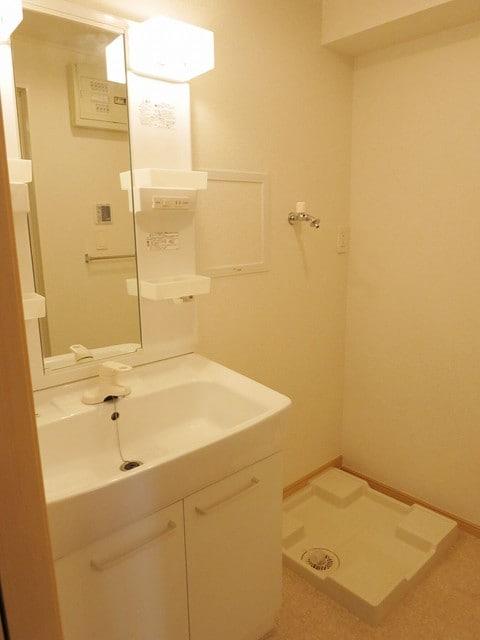 メゾン・アムール Ⅲ 02010号室の洗面所