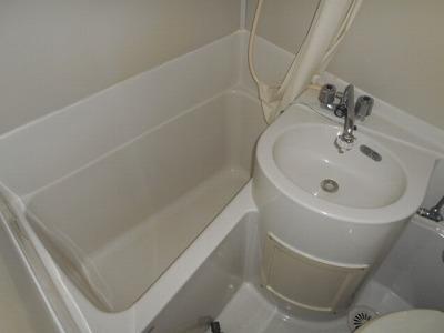 福岡ワンルームマンション A112号室の風呂