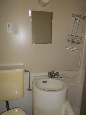 福岡ワンルームマンション A112号室の洗面所