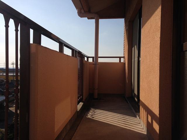 リーニエントN 4-B号室のバルコニー