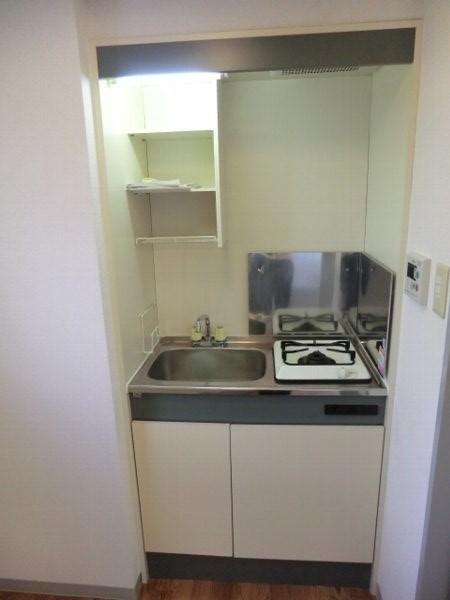 用賀ケロポリアル 201号室のキッチン