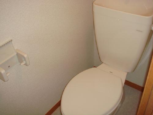 レオパレス筑紫 201号室のトイレ