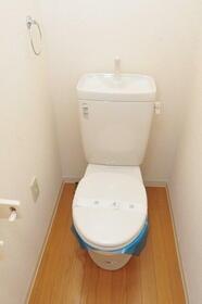 メゾン・ド・パレイ 0201号室のトイレ