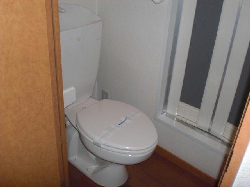 レオパレスルピナス 205号室のトイレ