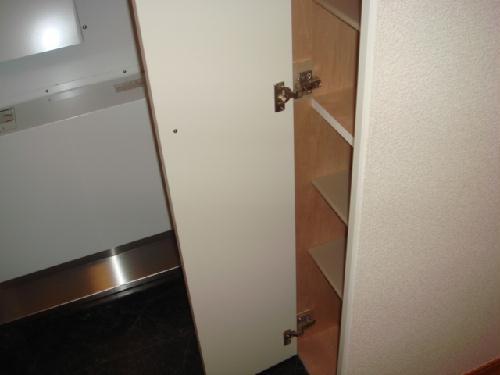 レオパレスルピナス 205号室の玄関