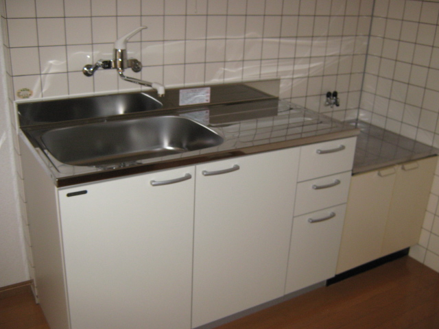 レガーロカンパーニャ B-2号室のキッチン