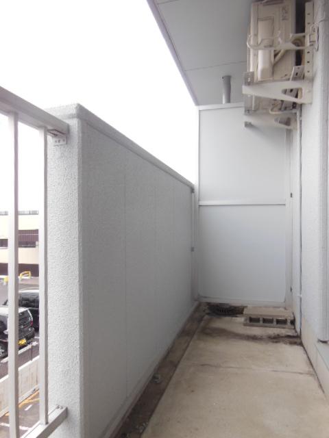 シャンポール三栄前山Ⅱ 105号室のバルコニー